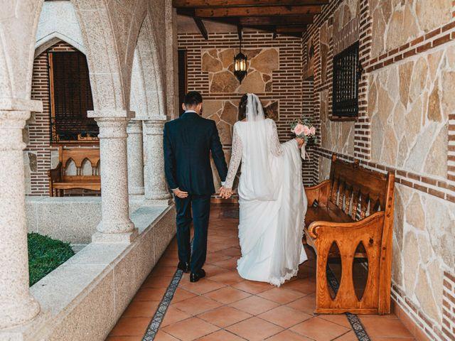 La boda de Nacho y Marta en El Tiemblo, Ávila 82
