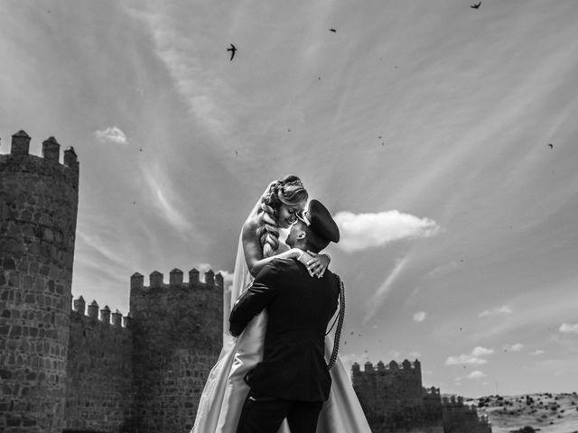 La boda de Fabian y Marta en Ávila, Ávila 17