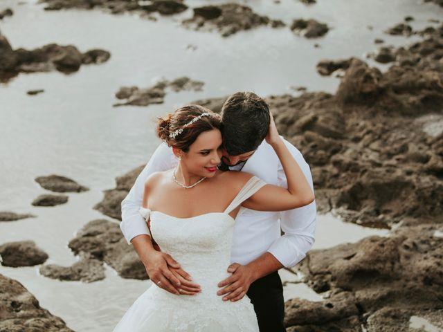 La boda de David y Ayira en Telde, Las Palmas 45