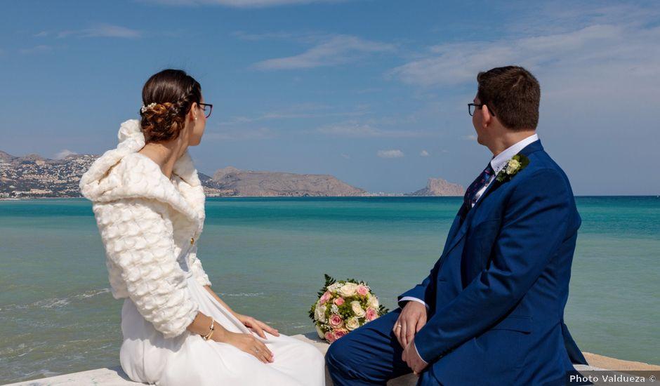 La boda de Pedro y Maria en Altea, Alicante