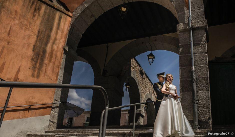 La boda de Fabian y Marta en Ávila, Ávila