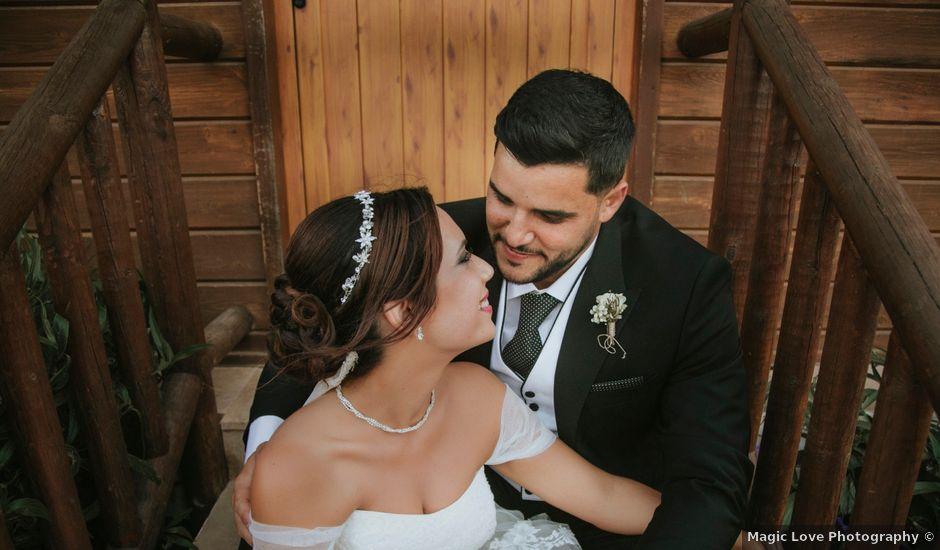 La boda de David y Ayira en Telde, Las Palmas