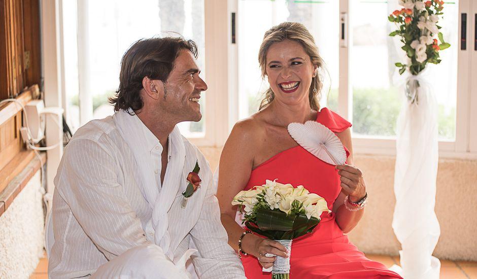 La boda de Luis y Veronica en La/villajoyosa Vila Joiosa, Alicante