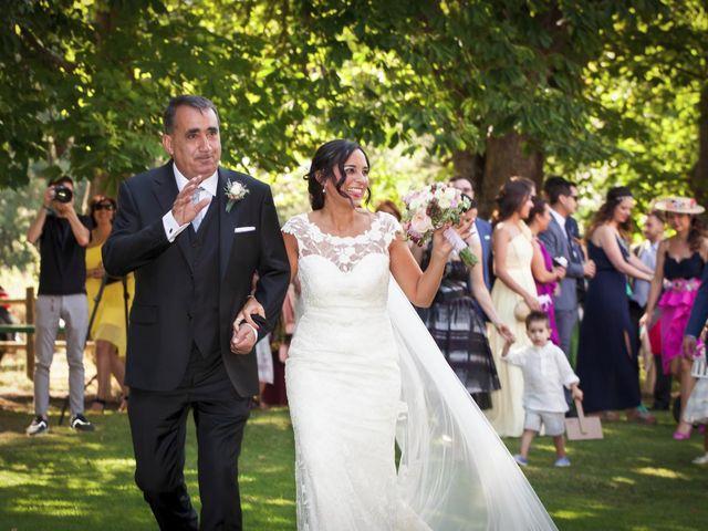 La boda de Diego y Berta en Casalarreina, La Rioja 6