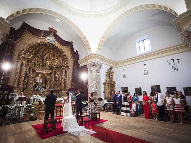 La boda de Diego y Berta en Casalarreina, La Rioja 8