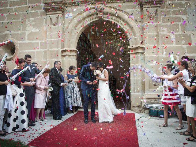 La boda de Diego y Berta en Casalarreina, La Rioja 10