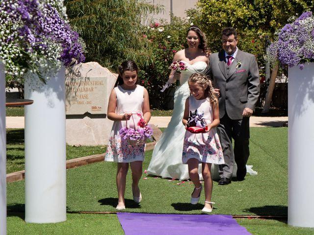 La boda de Eloy y Carolina en Totana, Murcia 7