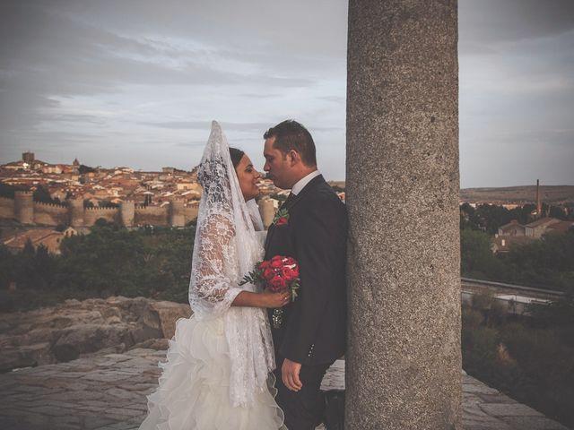 La boda de Daniel y Cristina en Ávila, Ávila 28