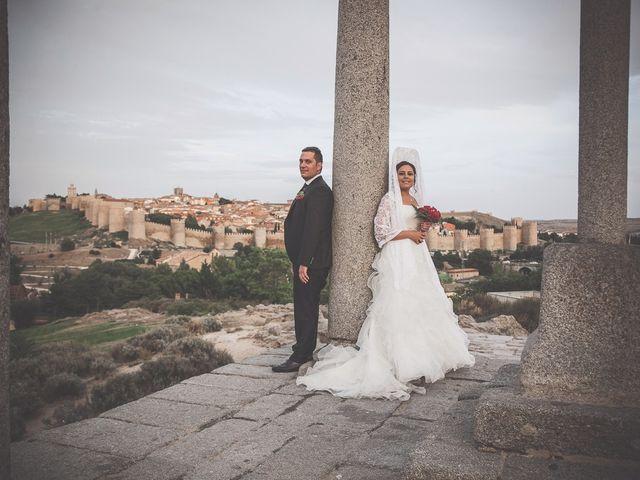 La boda de Daniel y Cristina en Ávila, Ávila 29