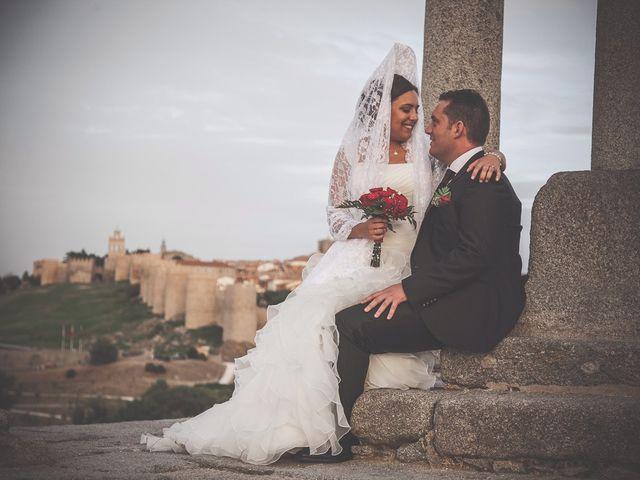 La boda de Daniel y Cristina en Ávila, Ávila 30