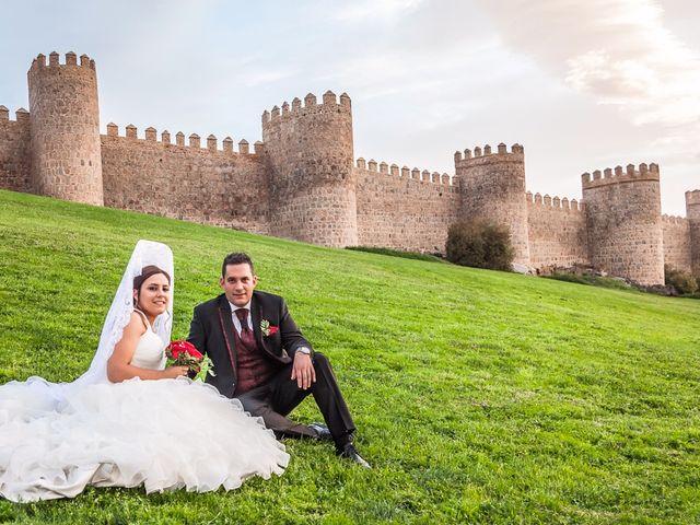 La boda de Daniel y Cristina en Ávila, Ávila 31