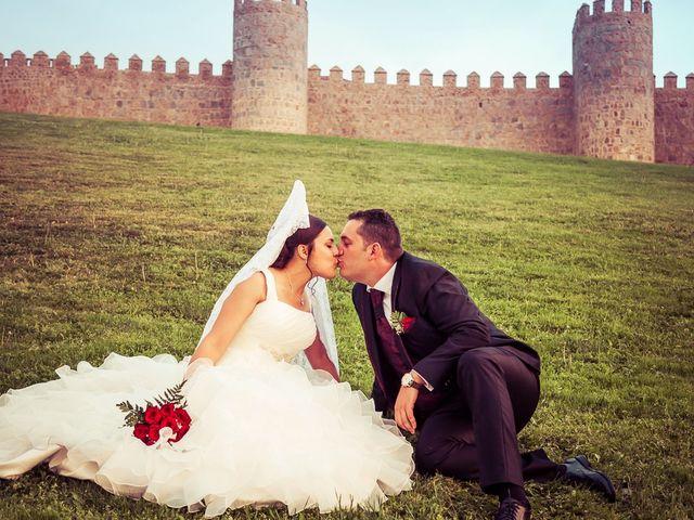 La boda de Daniel y Cristina en Ávila, Ávila 32