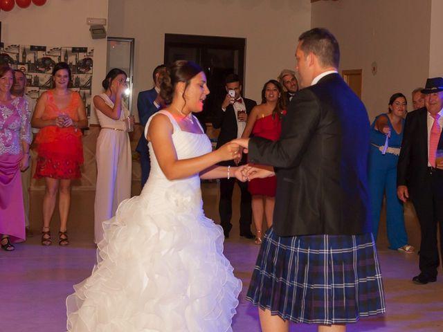 La boda de Daniel y Cristina en Ávila, Ávila 34