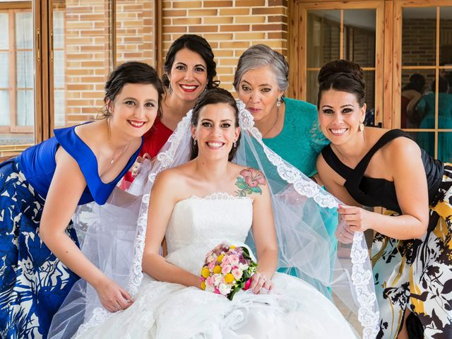 La boda de Fabián y Sandra en Cubas De La Sagra, Madrid 10