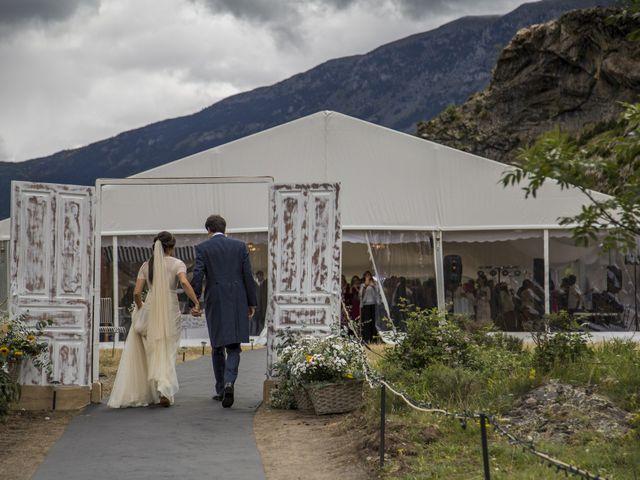 La boda de Lucas y Angela en Santuario Guayente, Huesca 16