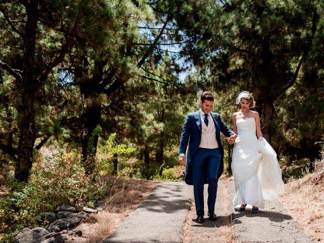 La boda de Chema y Gaizcane en Santa Cruz De La Palma, Santa Cruz de Tenerife 17
