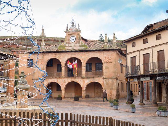 La boda de Sergio y Sara en Ayllon, Segovia 1