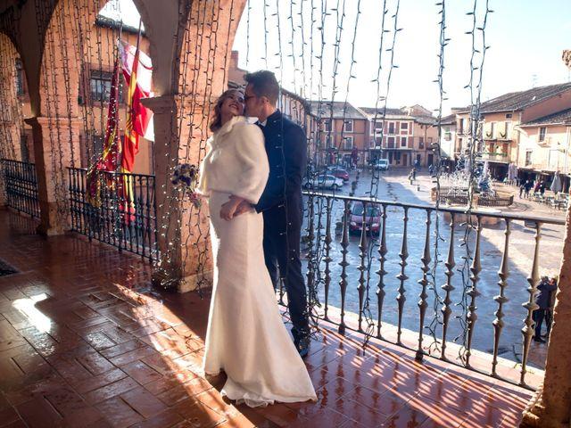 La boda de Sergio y Sara en Ayllon, Segovia 15