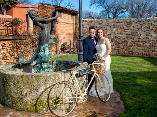 La boda de Sergio y Sara en Ayllon, Segovia 23