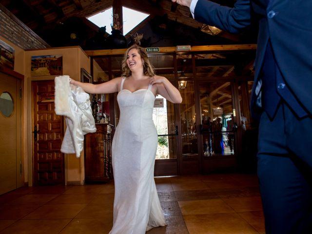 La boda de Sergio y Sara en Ayllon, Segovia 43
