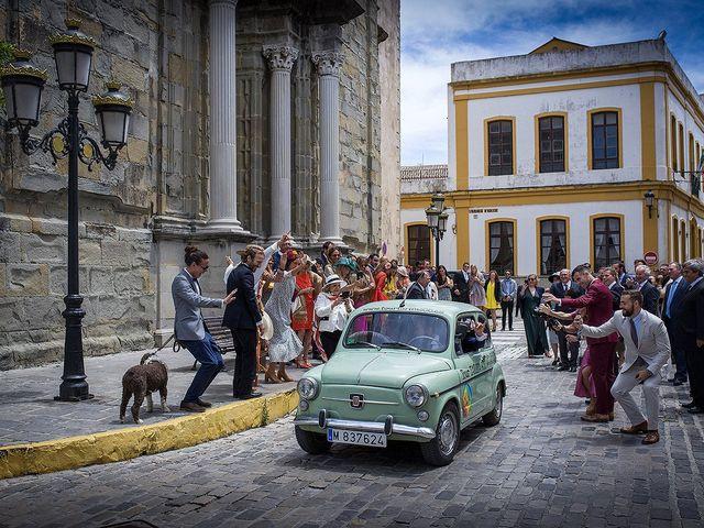 La boda de Fabio y Paula en Tarifa, Cádiz 35