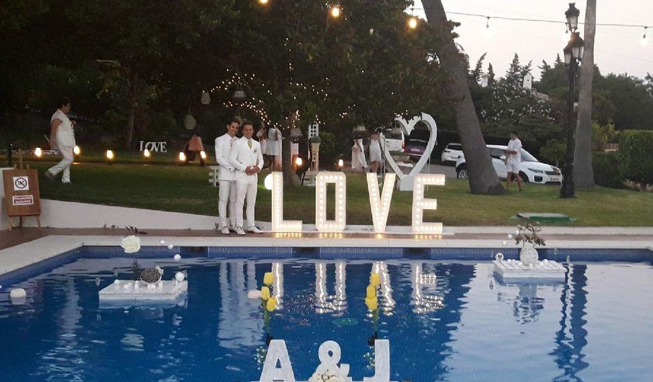 La boda de Adrián y Jesús en Algeciras, Cádiz