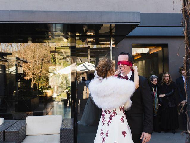 La boda de Pau  y Irene  en La Vall De Bianya, Girona 5