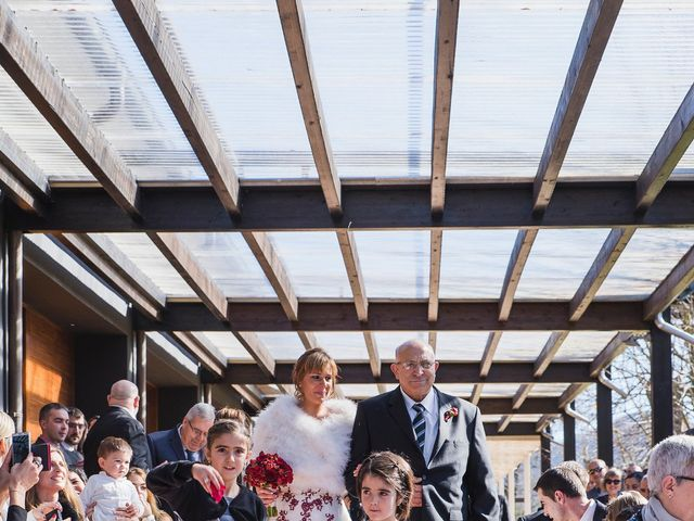 La boda de Pau  y Irene  en La Vall De Bianya, Girona 8