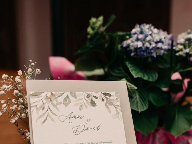 La boda de David y Amor en Belmonte, Cuenca 34