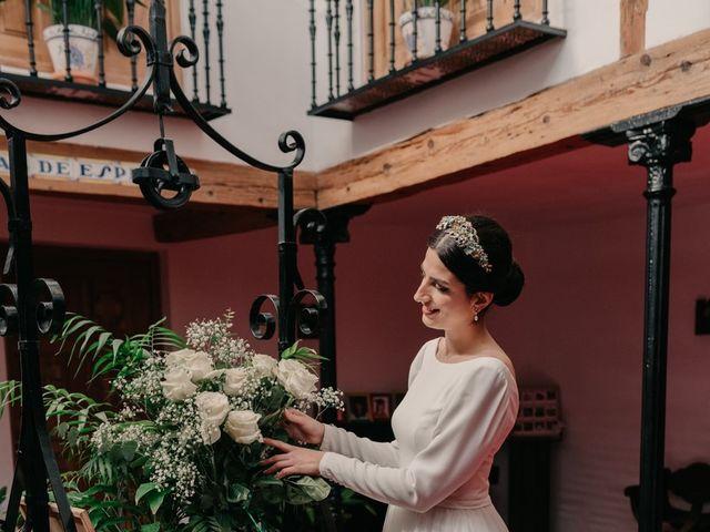 La boda de David y Amor en Belmonte, Cuenca 42