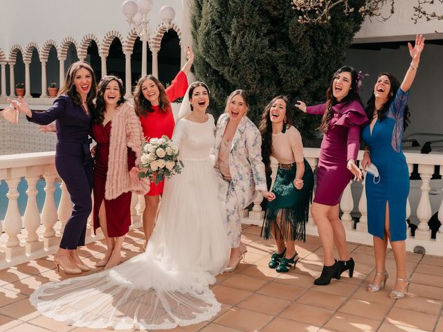La boda de David y Amor en Belmonte, Cuenca 57