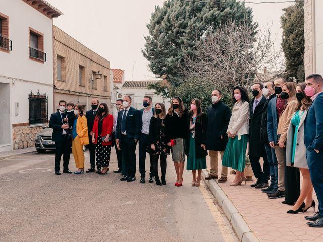 La boda de David y Amor en Belmonte, Cuenca 62