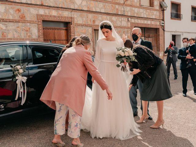 La boda de David y Amor en Belmonte, Cuenca 68