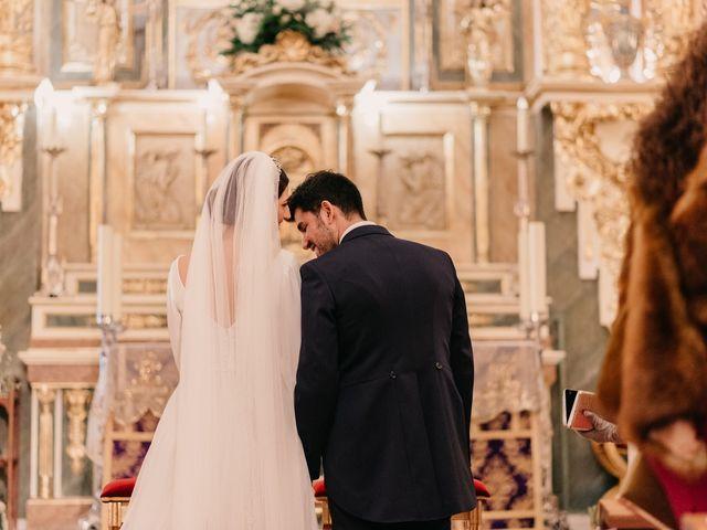 La boda de David y Amor en Belmonte, Cuenca 77