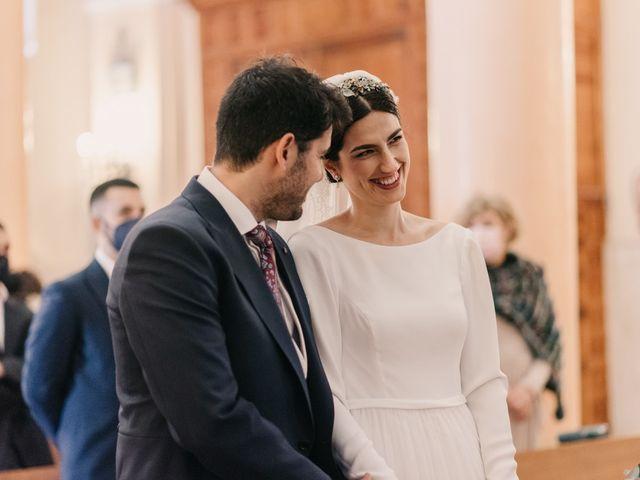La boda de David y Amor en Belmonte, Cuenca 88