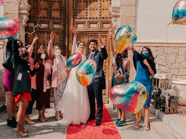 La boda de David y Amor en Belmonte, Cuenca 90