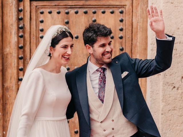 La boda de David y Amor en Belmonte, Cuenca 92