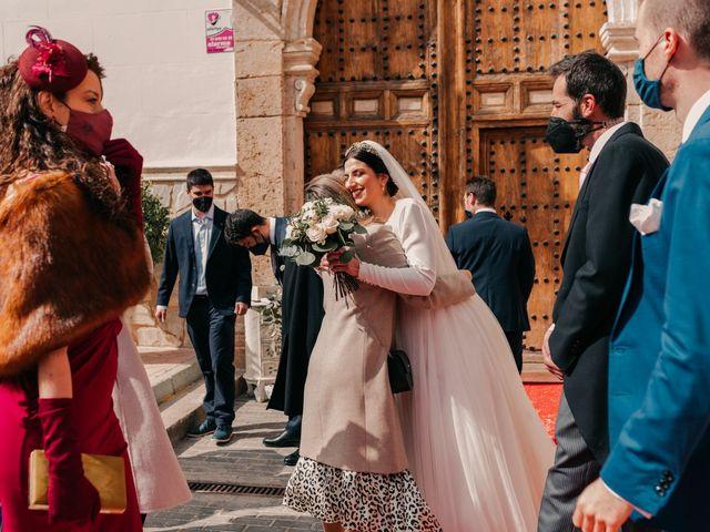La boda de David y Amor en Belmonte, Cuenca 94
