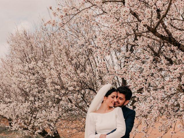 La boda de David y Amor en Belmonte, Cuenca 97