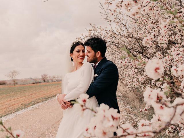 La boda de David y Amor en Belmonte, Cuenca 98