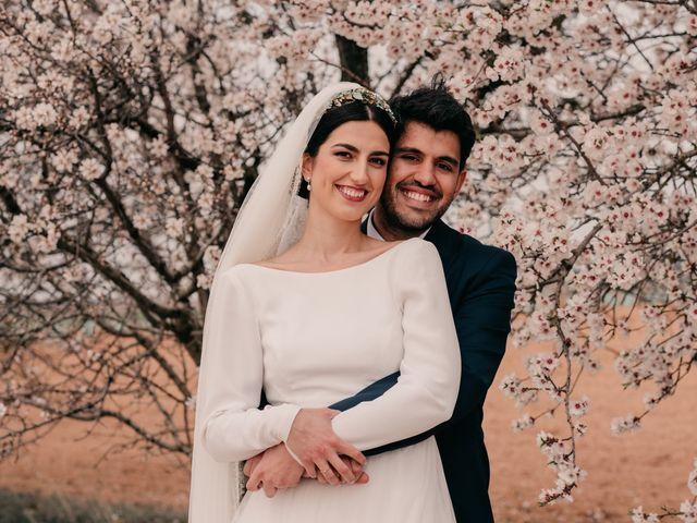 La boda de David y Amor en Belmonte, Cuenca 105