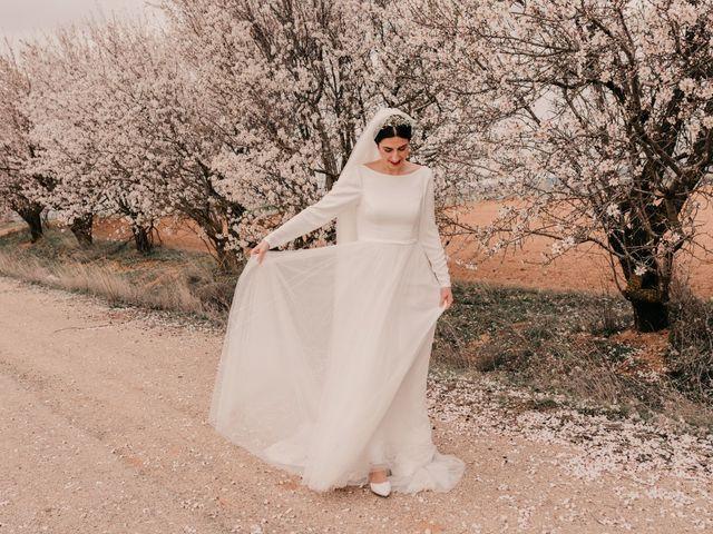 La boda de David y Amor en Belmonte, Cuenca 107