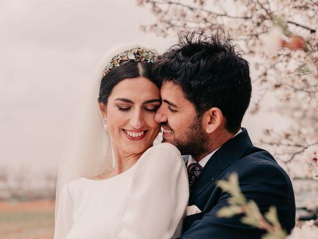 La boda de David y Amor en Belmonte, Cuenca 110