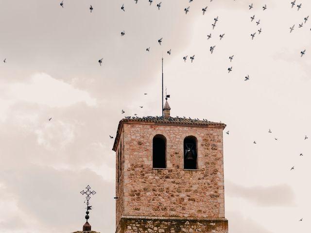 La boda de David y Amor en Belmonte, Cuenca 124