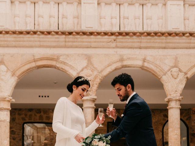 La boda de David y Amor en Belmonte, Cuenca 134