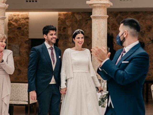 La boda de David y Amor en Belmonte, Cuenca 135
