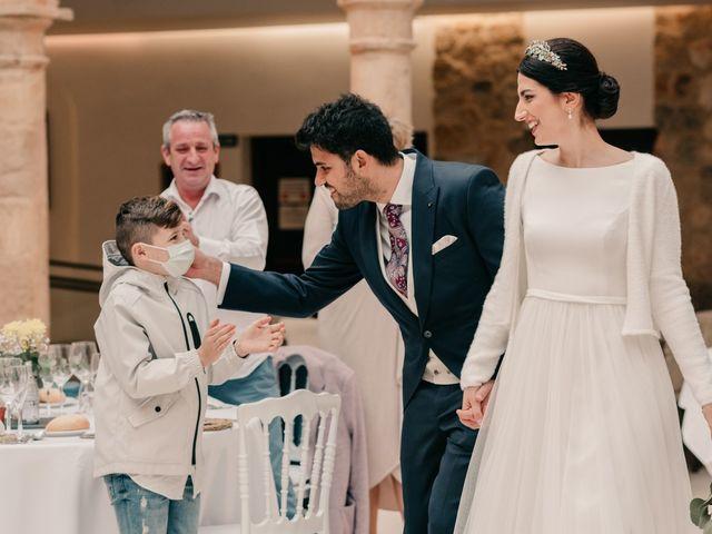 La boda de David y Amor en Belmonte, Cuenca 136