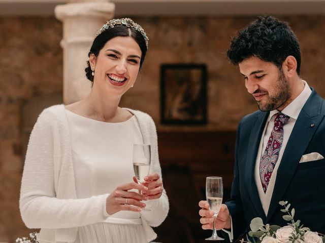 La boda de David y Amor en Belmonte, Cuenca 137