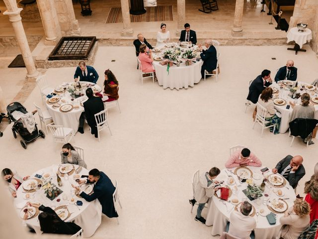 La boda de David y Amor en Belmonte, Cuenca 142