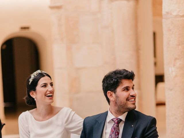 La boda de David y Amor en Belmonte, Cuenca 148